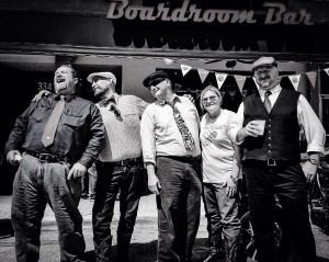 The Vintage Iron Club's Miami DGR contingent.
