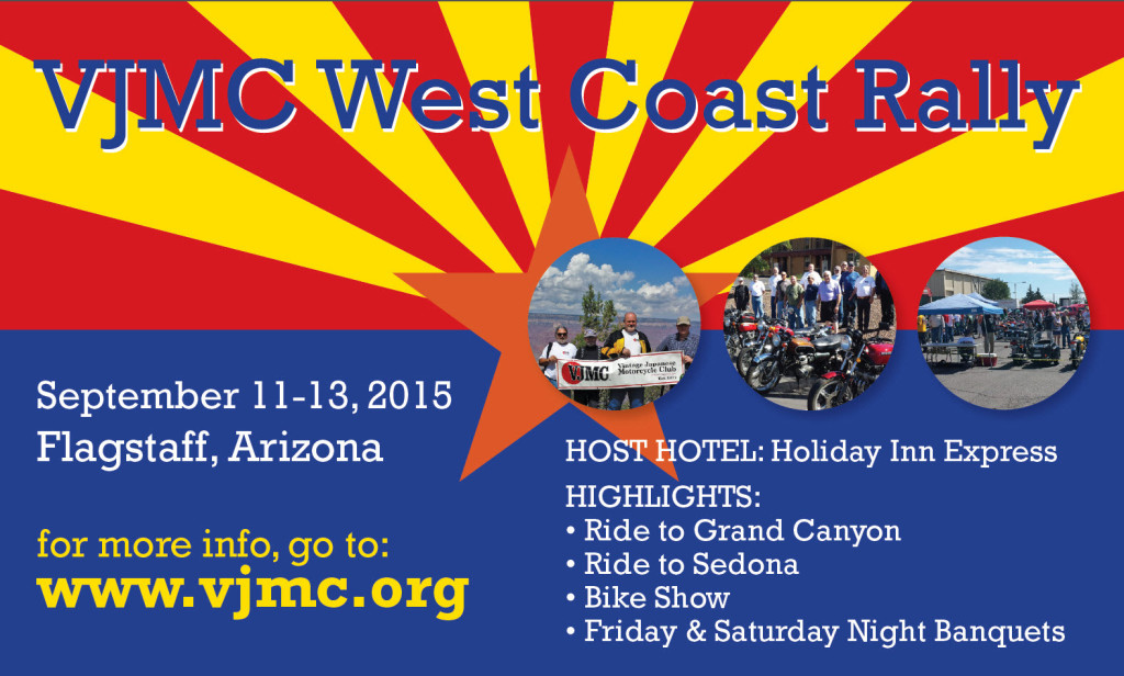 VJMC west coast rally