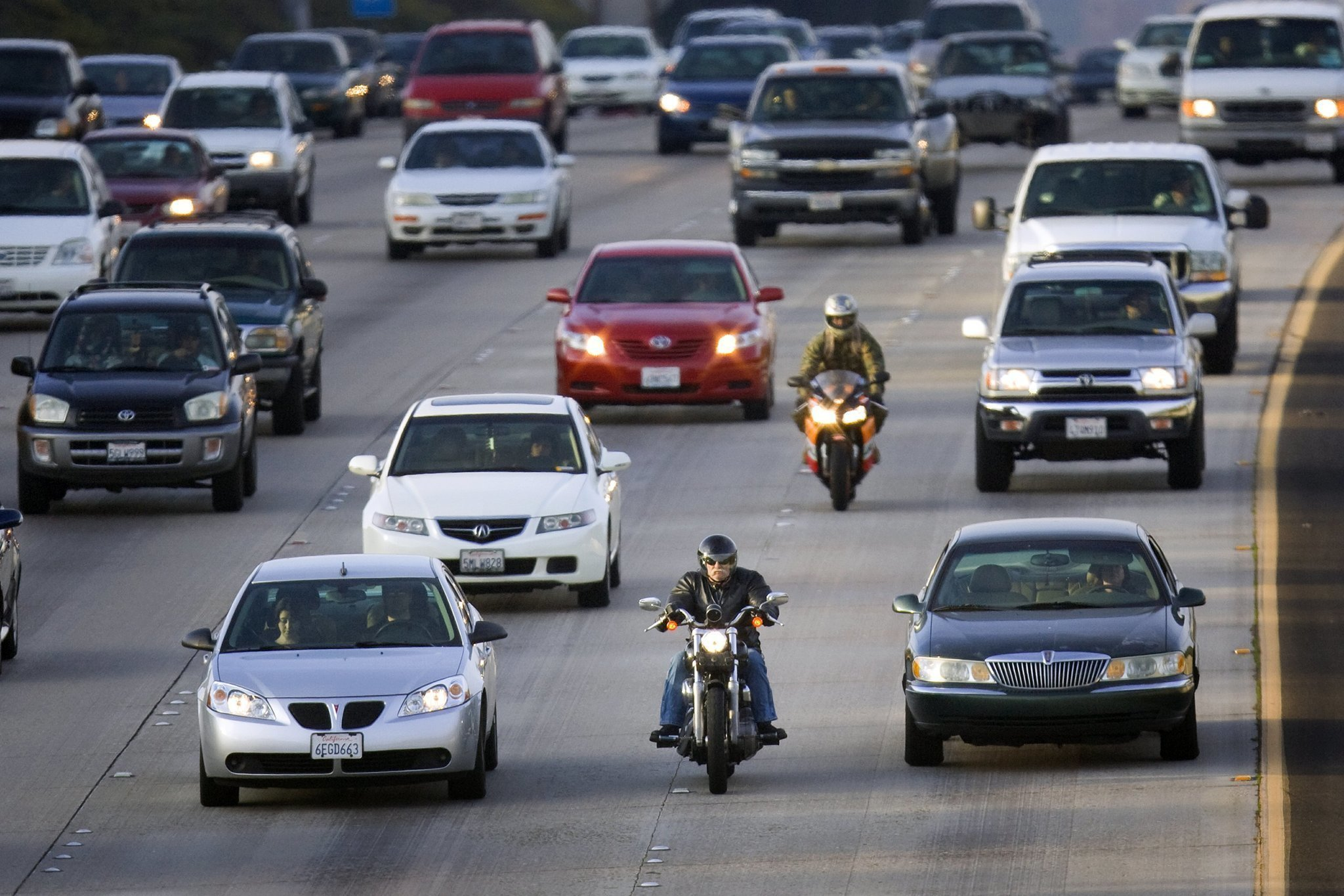 Lane Splitting in California