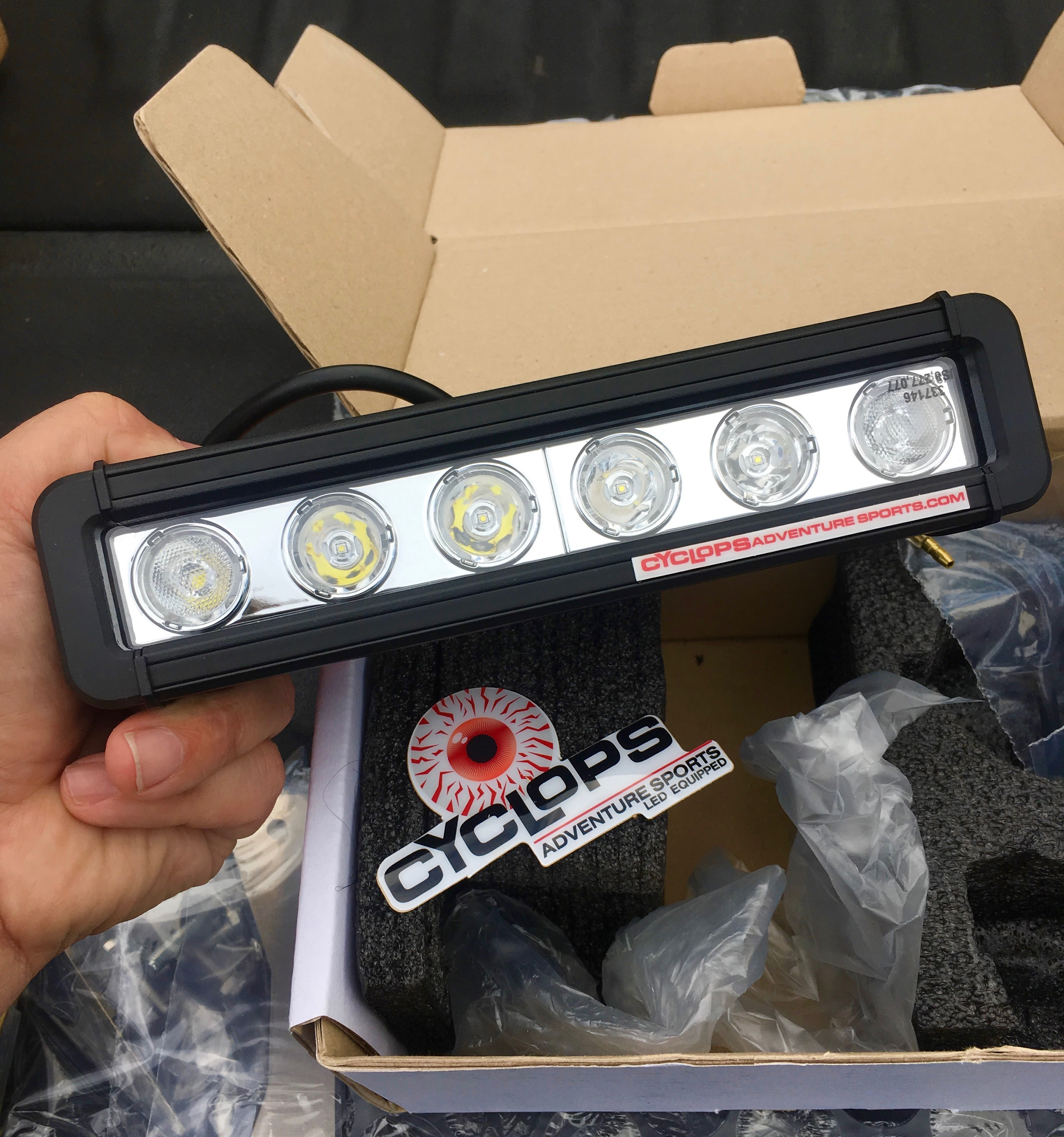 Cyclops Adventure Lighting Review - Cafe Racer Adv Motorcycle Podcast