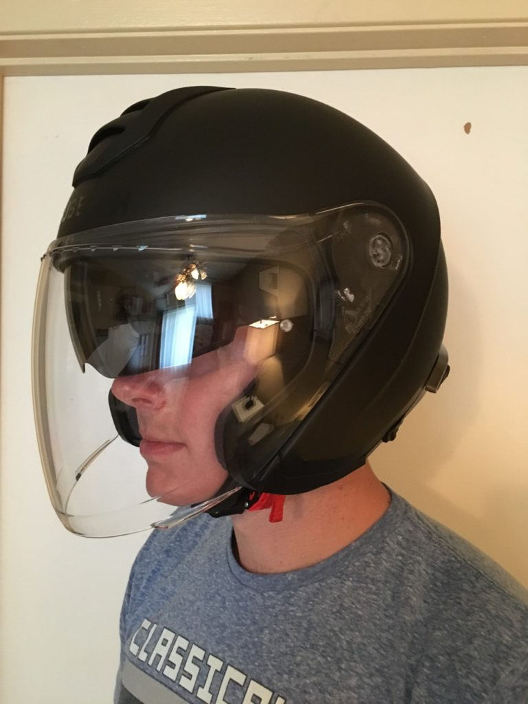 SCHUBERTH M1 with SRC - Cafe Racer Adv Motorcycle Podcast